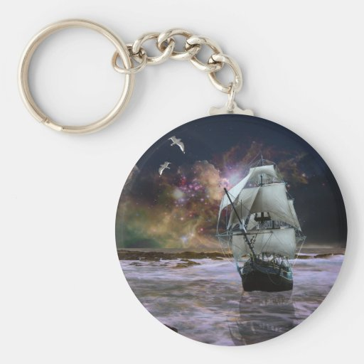 Her guiding star.. keychain