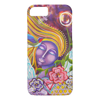 """""""Her Heart Flutters Free"""" iPhone 7 Case"""