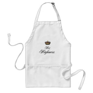 Her Highness (part of his and hers set) Adult Apron