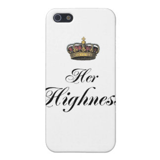 Her Highness (part of his and hers set) Case For iPhone SE/5/5s
