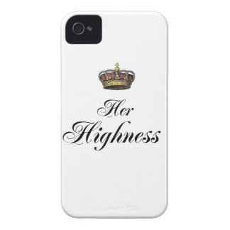 Her Highness (part of his and hers set) iPhone 4 Case-Mate Case
