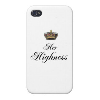 Her Highness (part of his and hers set) iPhone 4 Covers