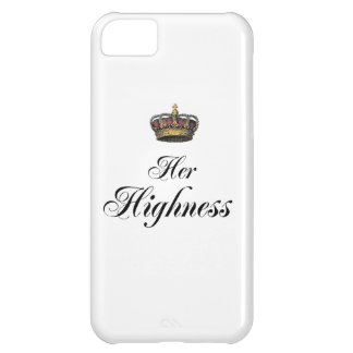 Her Highness (part of his and hers set) iPhone 5C Case