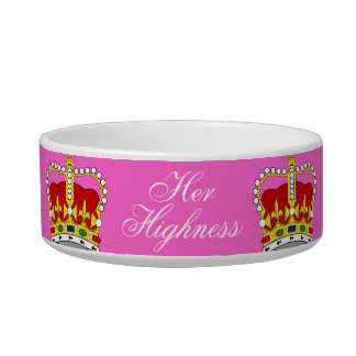 Her Highness Pet Bowl