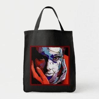 Her in paint jumbo tote bag