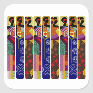 Her Kwanzaa Kwanzaa Holiday Stickers