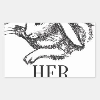 Her Ladyship Rectangular Sticker