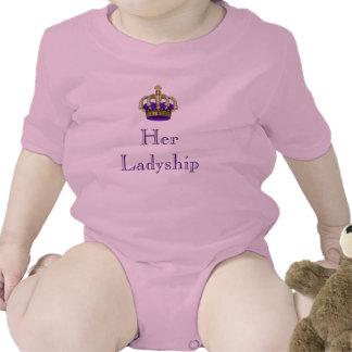 Her Ladyship Royal Baby Girl Newborn Baby Baby Bodysuit