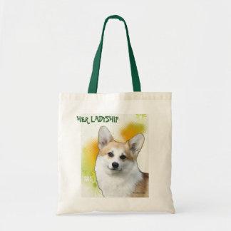 HER LADYSHIP TOTE BAG