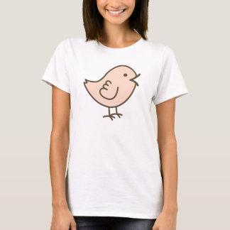 Her Little Pink Love Bird Vector Art T-Shirt