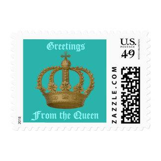 Her Majesty Crown Postage