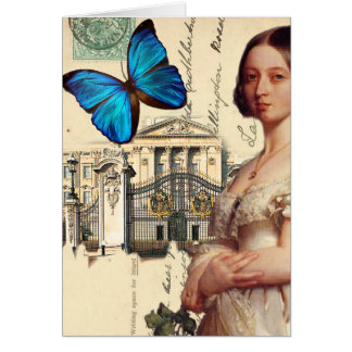 Her Majesty Queen Victoria, Thank you Card