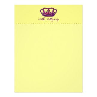 Her Majesty Stationery Letterhead