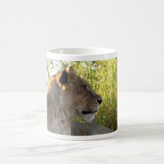 Her Majesty The Lioness mug