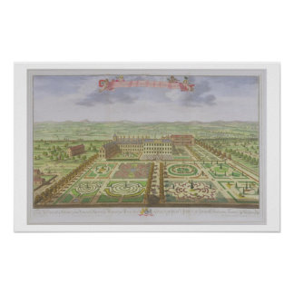 Her Majesty's Royal Palace at Kensington, from 'Su Print