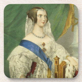 Her Most Gracious Majesty, Queen Victoria (1819-19 Drink Coaster