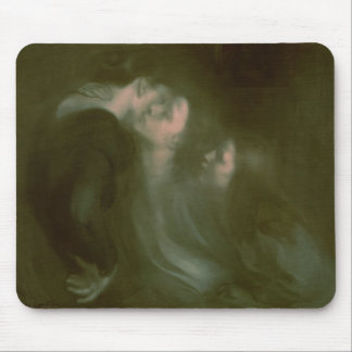 Her Mother's Kiss, 1890s Mouse Pad