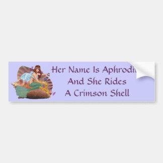 Her Name is Aphrodite Bumper Sticker