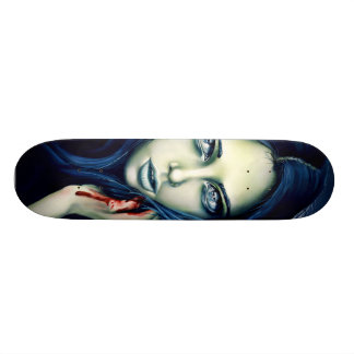 Her Offensive Slashes Skateboard Deck