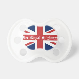 Her Royal Highness Baby Girl Pacifier