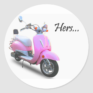 Her Scooter Sticker