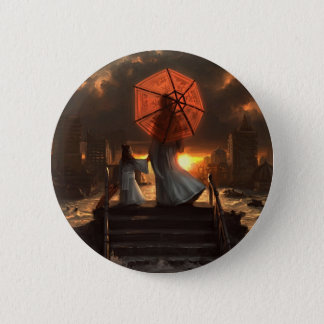 Her Silent Silhouette Button