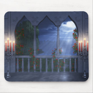 Her Silver Mantle Mousepad