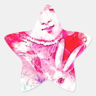 HER SPRING BUNNY LOVE 2.jpg Star Sticker