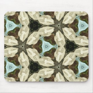 Her Stone Face Kaleidoscope Mouse Pad