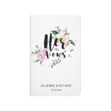 Her Vows Notebooks for Wedding Day