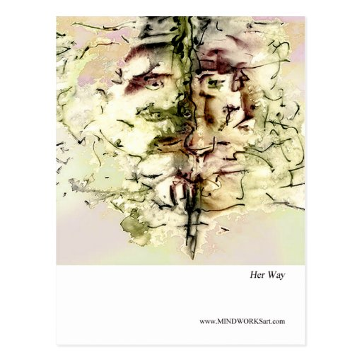 Her Way Postcard