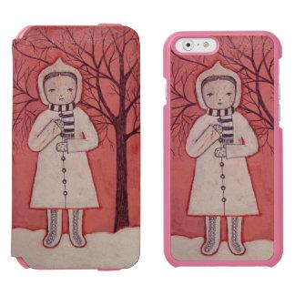 Her Winter Coat Wallet and Case Incipio Watson™ iPhone 6 Wallet Case