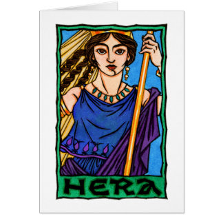 Hera Greeting Card (2)