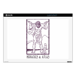 Heracles and Atlas Decal For Laptop
