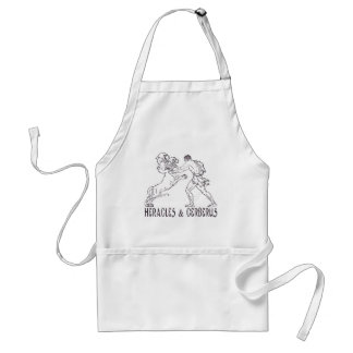 Heracles and Cerberus Adult Apron