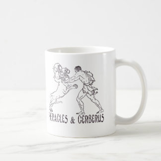 Heracles and Cerberus Coffee Mug