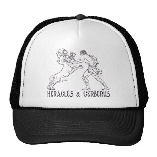 Heracles and Cerberus Trucker Hat