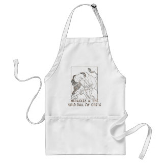 Heracles and The Bull of Crete Adult Apron