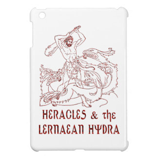 Heracles and the Lernaean Hydra iPad Mini Case