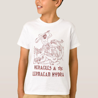 Heracles and the Lernaean Hydra T-Shirt
