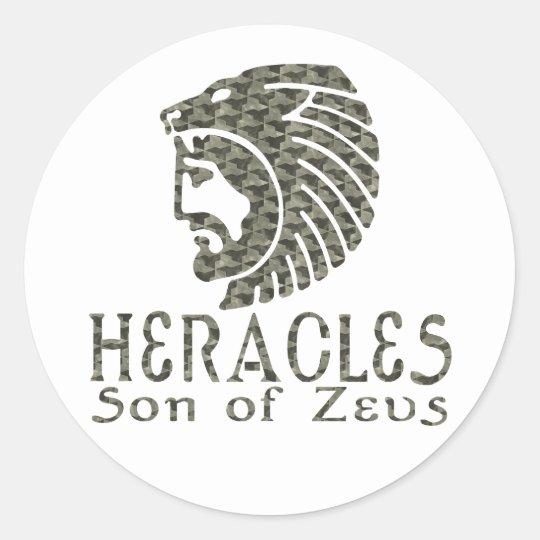 Heracles Classic Round Sticker