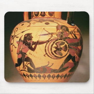 Heracles fighting Geryon Mouse Pad