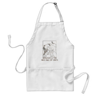 Heracles & The Bull of Crete Adult Apron