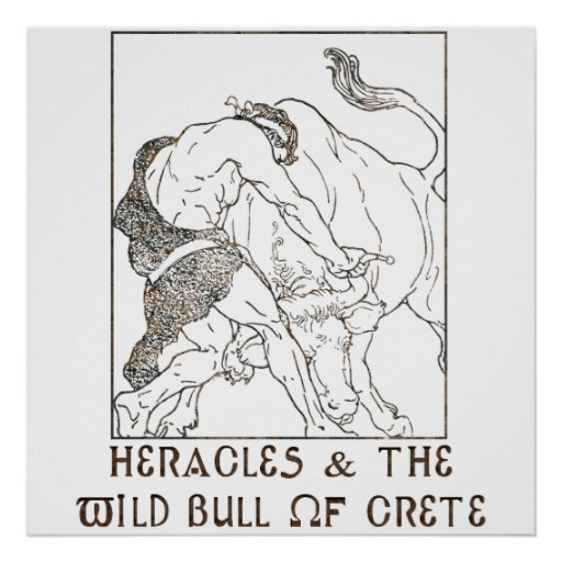 Heracles & The Bull of Crete Poster