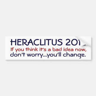 Heraclitus 2012 pegatina para auto