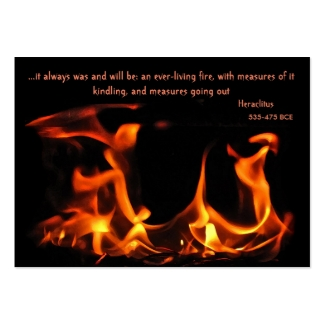 Heraclitus Everlasting Fire ATC