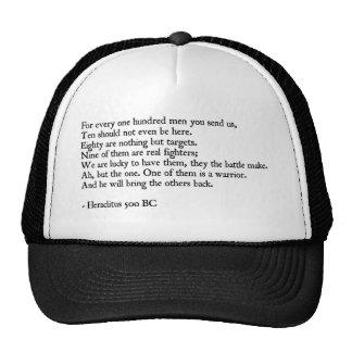 Heraclitus Quote Trucker Hat