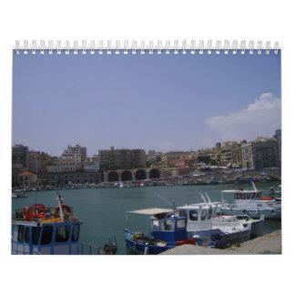 Heraklion, Crete calendar
