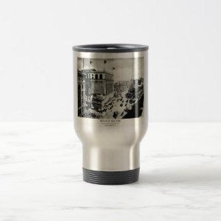 Herald 1898 New York City cuadrado Taza De Café
