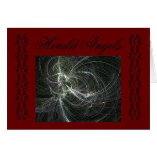 HERALD ANGELS CARD
